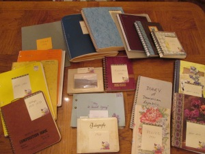 My journals since 1969!