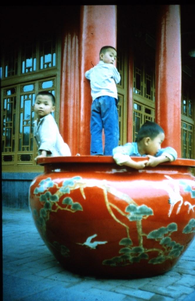 3 boys play