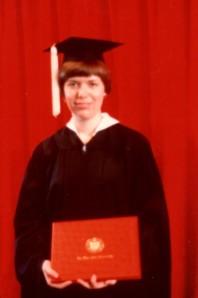 Pamela Receives Her Bachelor of Science in Nursing Degree!