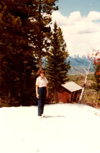 Still lots of snow in June in Jackson Hole!