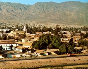 The copper town in the desert