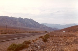 I rode the bus all night for 12 hours on the Pan American highway along the Pacific coast.