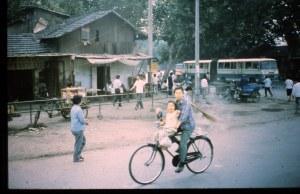 Typical Nanjing street corner.