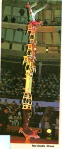 Shanghai Circus with amazing balancing act!