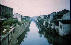 Suzhou canals just like Venice!
