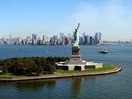 Statue of Liberty in New York Harbor symbolizes freedom for me now more than ever!