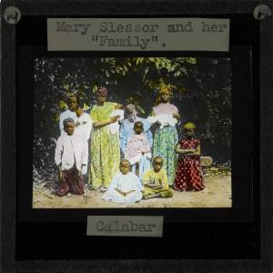 Mary Slessor with some of her beloved adopted children.