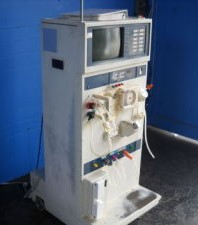 Cobe 3000 dialysis machine I learned how to use.