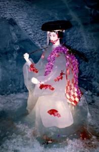 112 Japanese lady ice