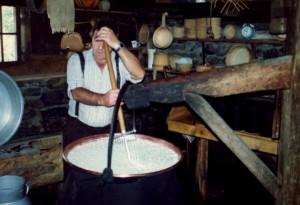 61 making Swiss cheese