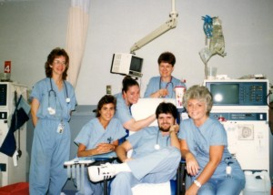 Goodbye to my coworkers in dialysis was tough.