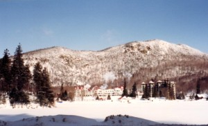 Skied at the Balsams grand resort in New Hampshire 1992
