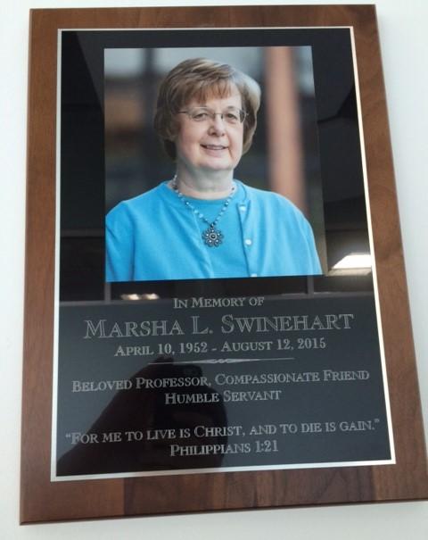 Marsha plaque