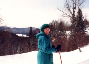 Skiing in Vermont 1992