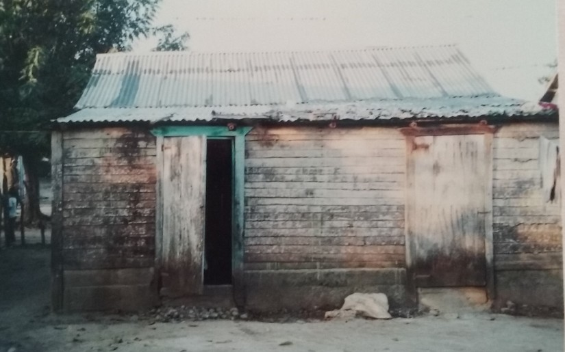 Our village home for cultural immersion. A family of 4 was on the other side of the thin wall.