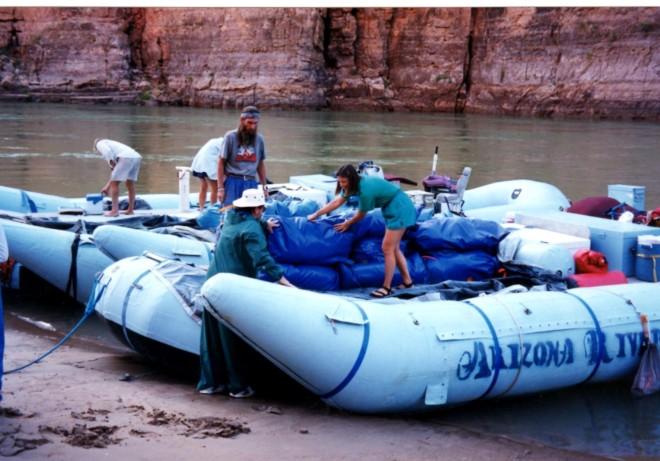 loading raft