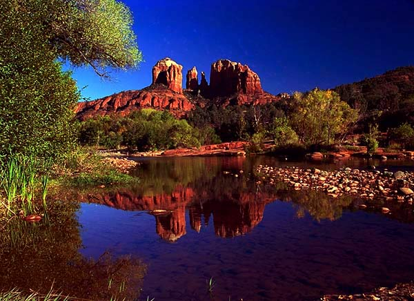 Sedona Arizona where I recovered from altitude sickness.